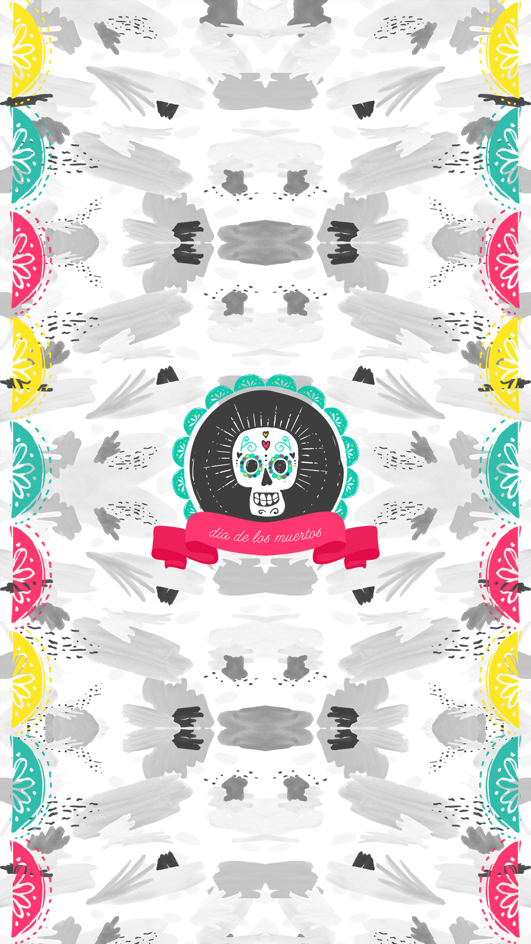 Wallpaper Dia De Los Muertos Iphone 6 02 Pop Goes The Reader