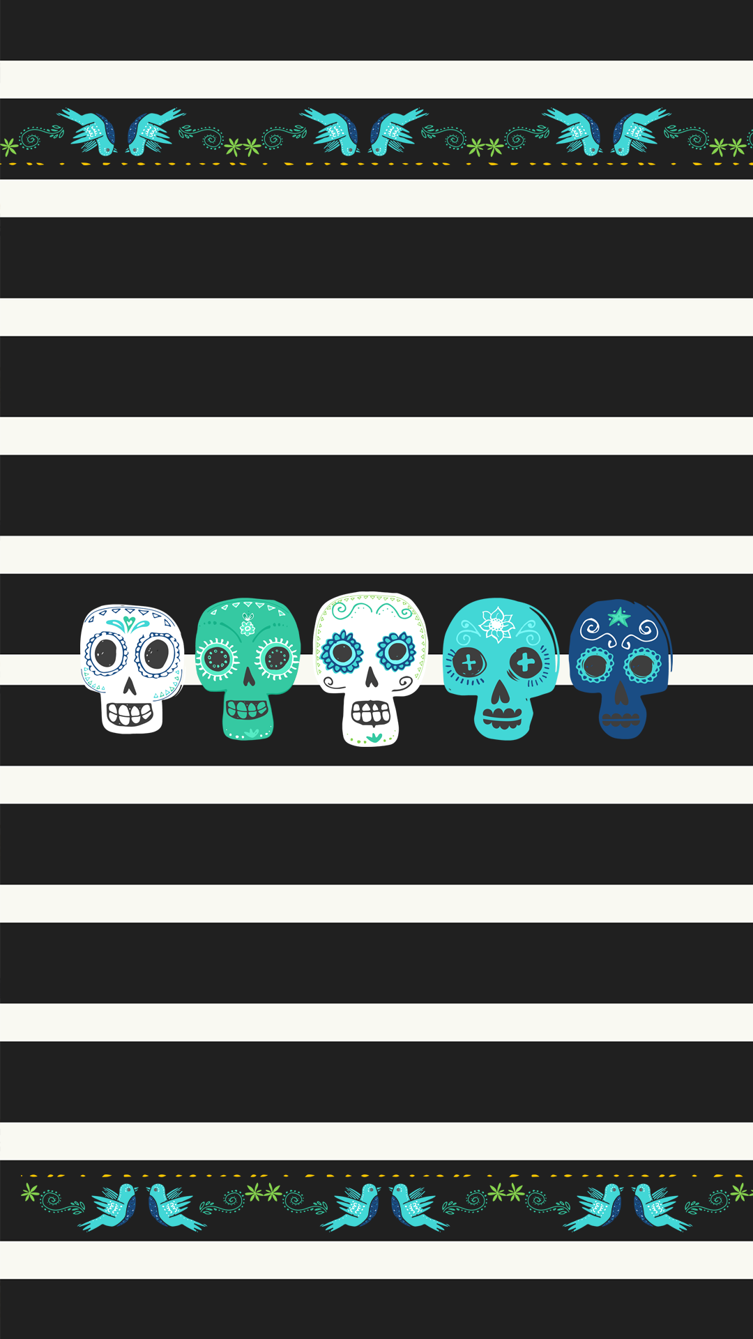 Wallpaper Dia De Los Muertos Iphone 6 Pop Goes The Reader